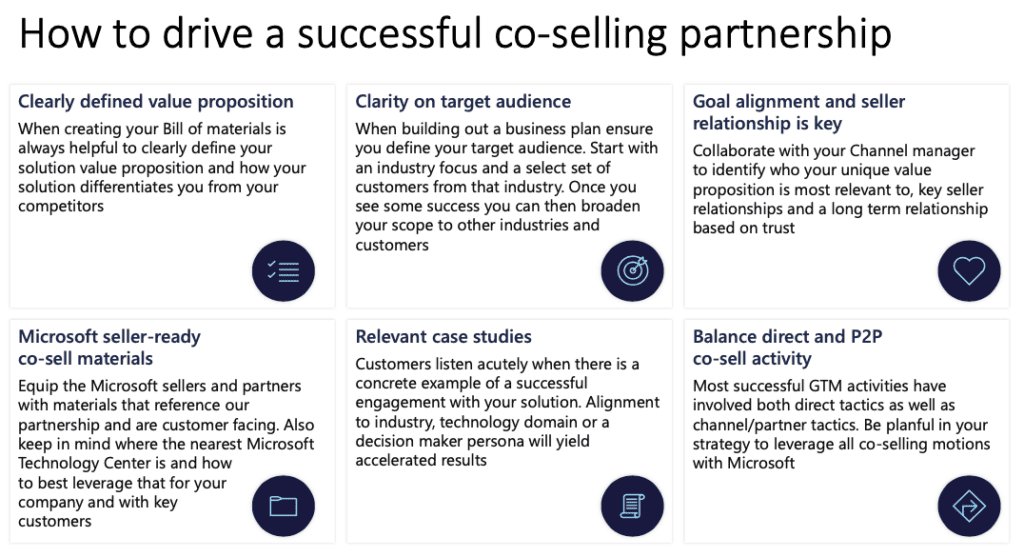 How to drive a successful co-selling partnership with Microsoft Azure Marketplace